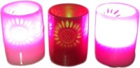 Indian Handicrafts Company LED Candles Candle (Multicolor, Pack Of 4)