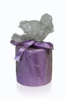 Silverlight Household Candle (Purple, Pack Of 1)