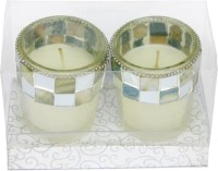 The Candle Shop Gift Sets Candle (Grey, Pack Of 2)