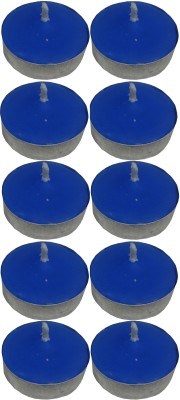 Atorakushon Scented Smokeless Tealight T-Lite Pack Of 40 Candle (Blue, Pack Of 40)