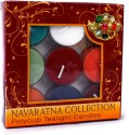 Artesana Poly Cup Tealight Candles Candle - Multicolor, Pack Of 9