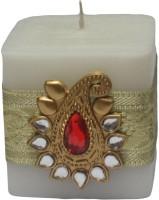 Tvish Candles Banarasi Candle (White, Pack Of 1)