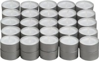 Divine Miracles Tea Light Candle (White, Pack Of 50)