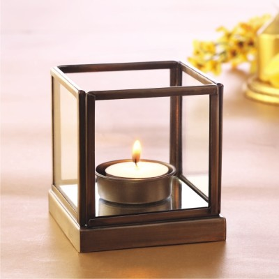 Borosil Mirage Tea Light Candle (White, Pack Of 1)