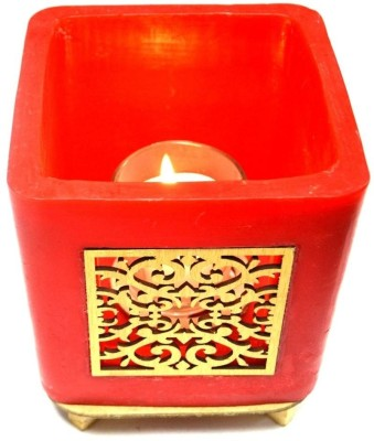 Tvish Candles Candles Tvish Candles Valentine Gift Red Jharoka Glow Candle Candle