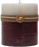 Aashram Fragrances And Lights Aromatic Gingerbread Candle (Multicolor, Pack Of 1)