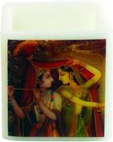 Artistique Radha Krishna Hurricane Candle (Multicolor, Pack Of 1)