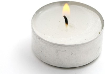 Besure Tealights Candle (White, Pack Of 30)