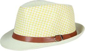 FabSeasons Solid Fedora Hat Cap