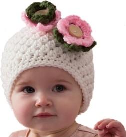 Love Crochet Art Woven Crochet Cap