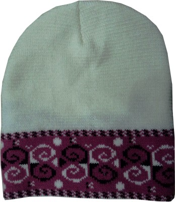 Beautifully designed woollen cap for Women s. With good strech in fabric it  is very comfortable to wear to person above 15 years. a69a8aa1aa