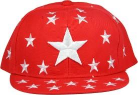 FabSeasons Solid Snapback Hiphop Flat Cap Cap