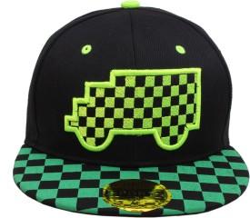 Sushito Solid Fancy Summer Black Hip Hop Cap