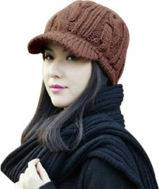 Visach Solid Knitted Cap