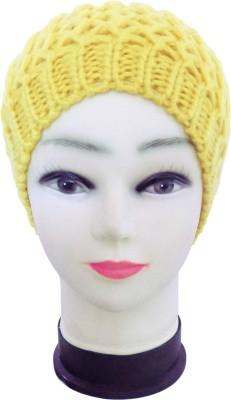 Regi Self Design Safari Cap Cap (Yellow)