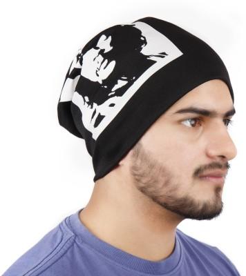 Noise Che Guevara Beanie- Black Printed Skull Cap for Rs. 449 on Flipkart.com  A d3d90b346459