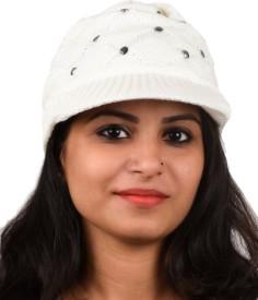 Tiekart Embellished Winter Knitted Cap Cap