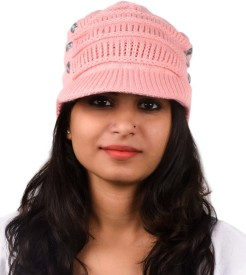 Tiekart Embellished Winter Knitted Cap Cap