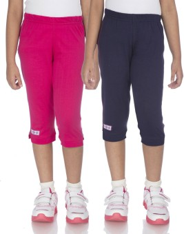 Ocean Race Fashion Girl's Pink, Blue Capri