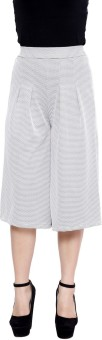 Rampwalk Rampwalk Multi Color Cotton Culottes Women's Capri