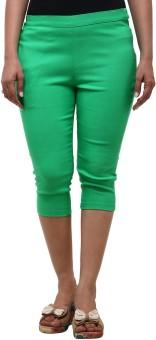 Fbbic Green Women's Capri - CPIE5Y8KGGHCU8VN