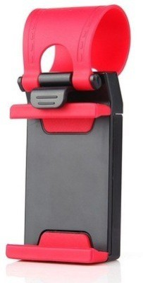 Autosun Car Steering Red Mobile Holder