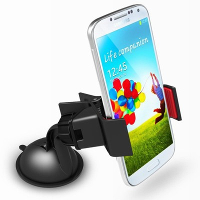 Fly Black Mini Clip Mobile Holder