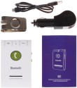Maxbell 4.0 Car Bluetooth Device With (White)