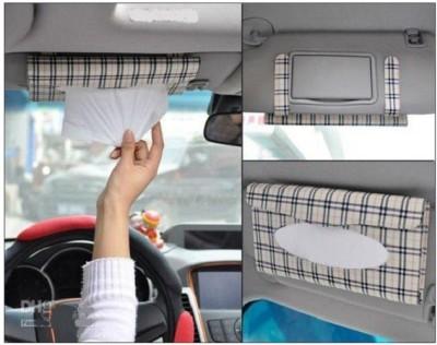 24 off on sangaitap car sun visor paper box case auto interior decoration accessories holder. Black Bedroom Furniture Sets. Home Design Ideas