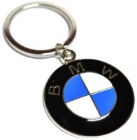 Prime Traders BMW Emblem Car Logo Locking Key Chain (Black)