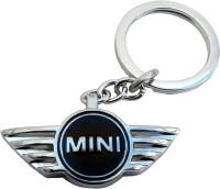 Techpro Mini Cooper Metal Key Chain (Multi Color)