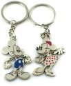Oyedeal Couple Mickey Mouse Key Chain - Multi-color