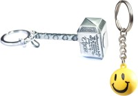 Confident Metalic Hammer With Smily Keychain (multi)