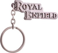 Zeroza Royal Enfield Metal RE57 Key Chain (Multicolor)