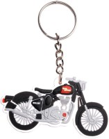 Chainz Royal Enfield Motorcycle Silicon Keychain (Multicolor)