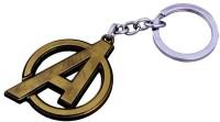Confident Metal Avengers Key Chain Key Chain (Gold)