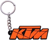 Oyedeal KTM Bike Logo Rubber Key Chain (Orange)