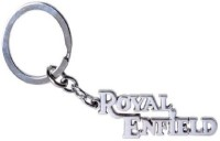 Ezone Royal Enfield Style Metal Key Chain Carabiner (Silver)