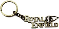 Aditya Traders CLASSY METAL 'ROYAL ENFIELD' WITH LOGO KEYCHAIN Key Chain (metallic Colour)