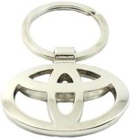 CTW Toyota Car Logo Full Metal Keychain (Silver)