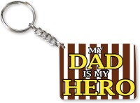 Tiedribbons Gift For Father's Day_Special Dad_18 Key Chain (Multicolored)