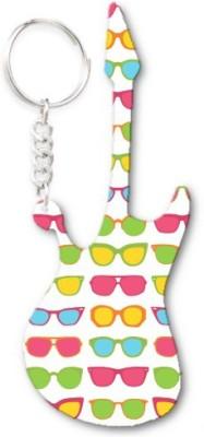 Lolprint 289 Pattern Guitar Key Chain