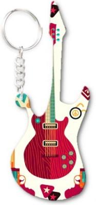 Lolprint 378 Pattern Guitar Key Chain