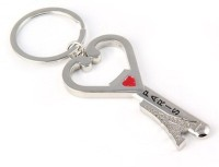 Shop & Shoppee Love Paris Eiffel Tower Bottle Opener Key Chain (Silver)