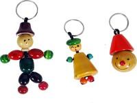 Mnc Key Chains Combo Of(Joker+Lilliput+Smili) Key Chain (Multicolor)