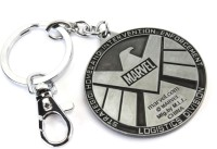 SRPC EAGLE-SILVER Locking Key Chain (SILVER)