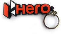Techpro Singlesided Hero Bike Key Chain (Multi Color)