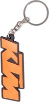 FCS KTM Bike Rubber Key Chain (Orange)