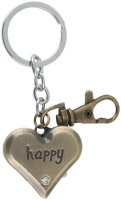 Kairos Premium Happy Heart Pocket Watch Clock Keychain (Brown)