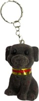 DCS Cute Doggy Key Chain(Black) Locking (Black)